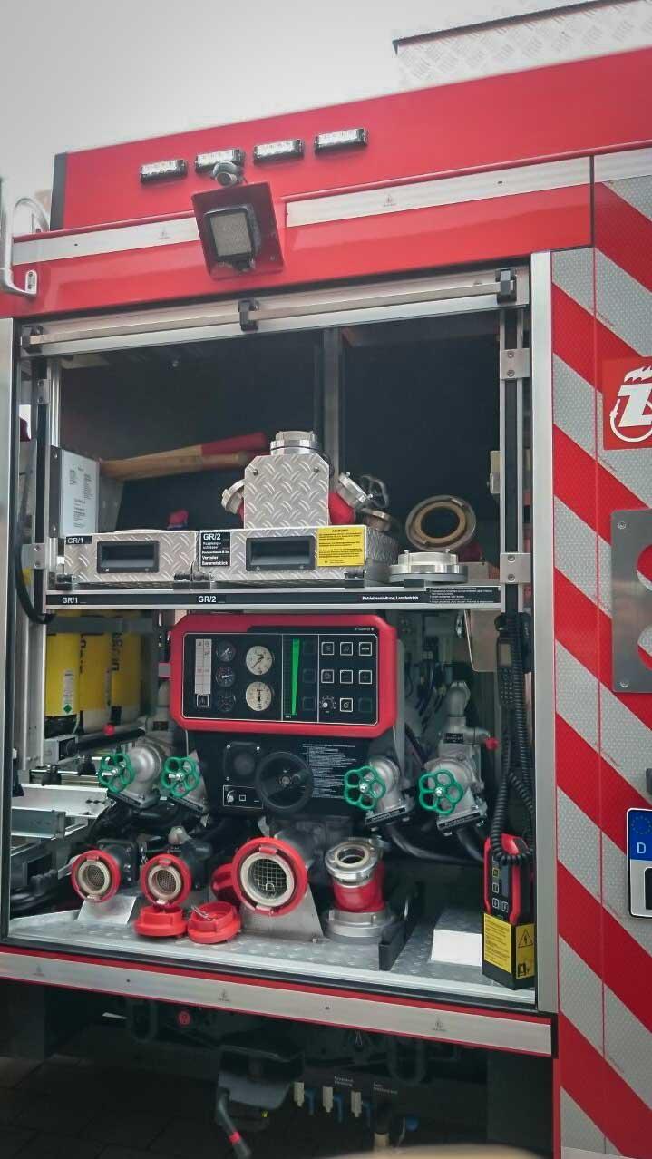 Einweihung Feuerwehrauto Dorfgütingen 4