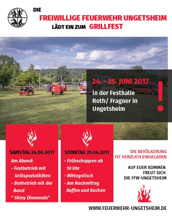 Einladung Grillfest 2017