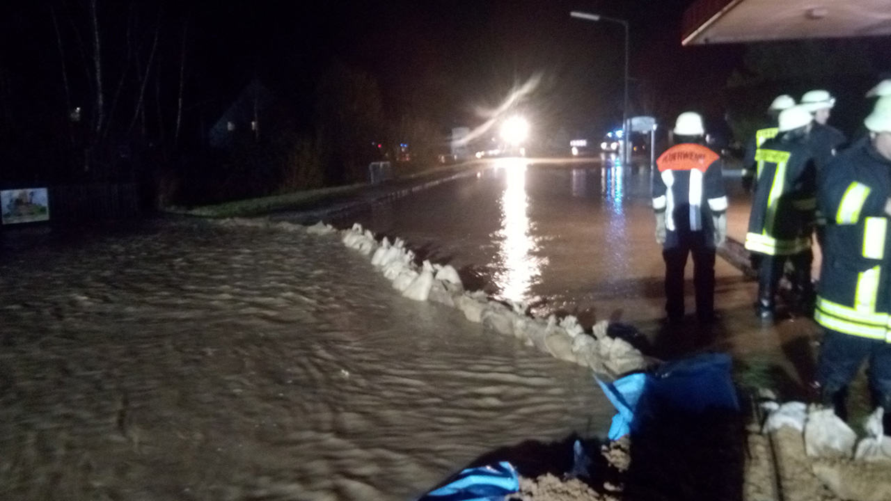 Hochwasser Dorfgütingen 31.12.2017 2