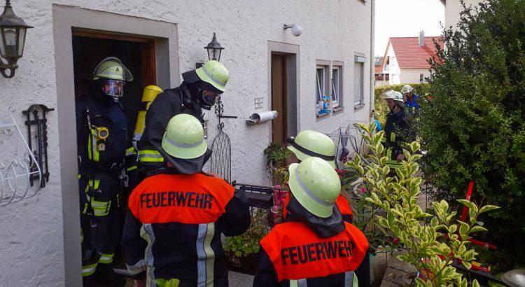 Brand DAchstuhl Feuchtwangen 11.08.2018