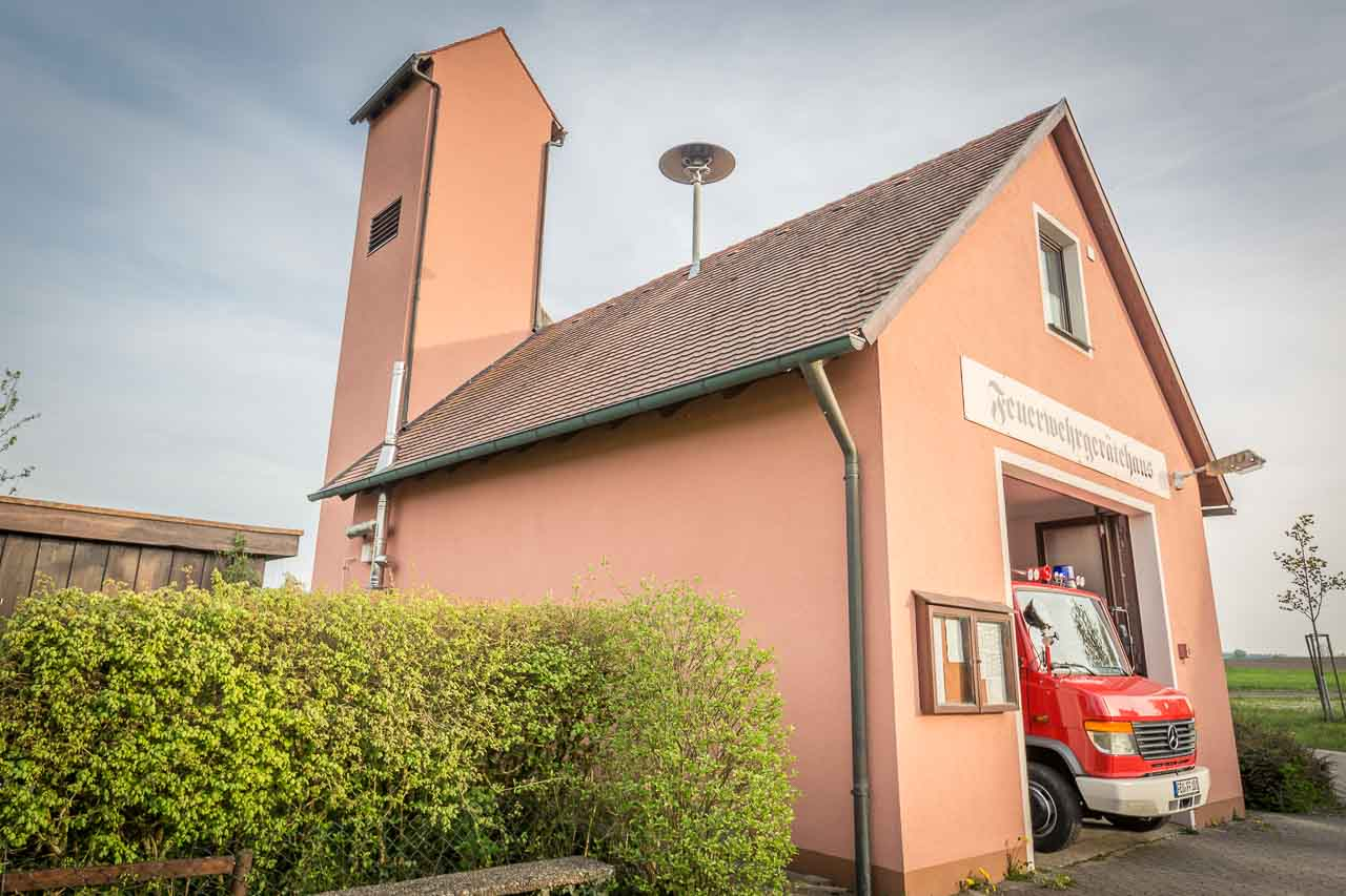 Feuerwehrgerätehaus Feuerwehr Ungetsheim