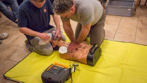 Defibrillator Schulung 2016