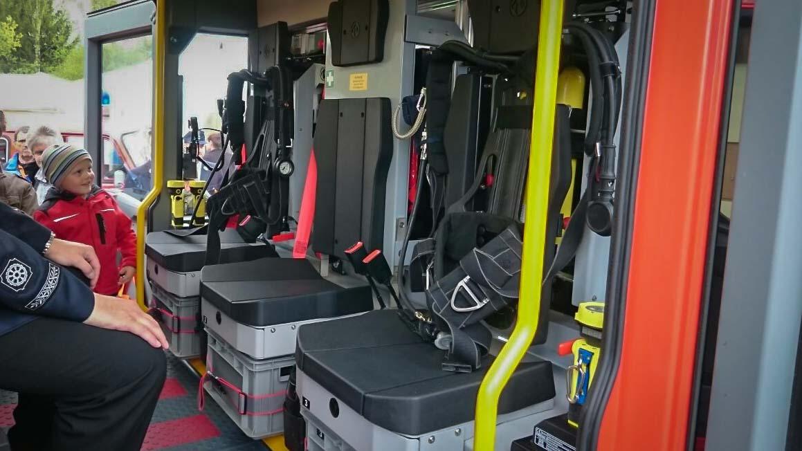 Einweihung Feuerwehrauto Dorfgütingen 7