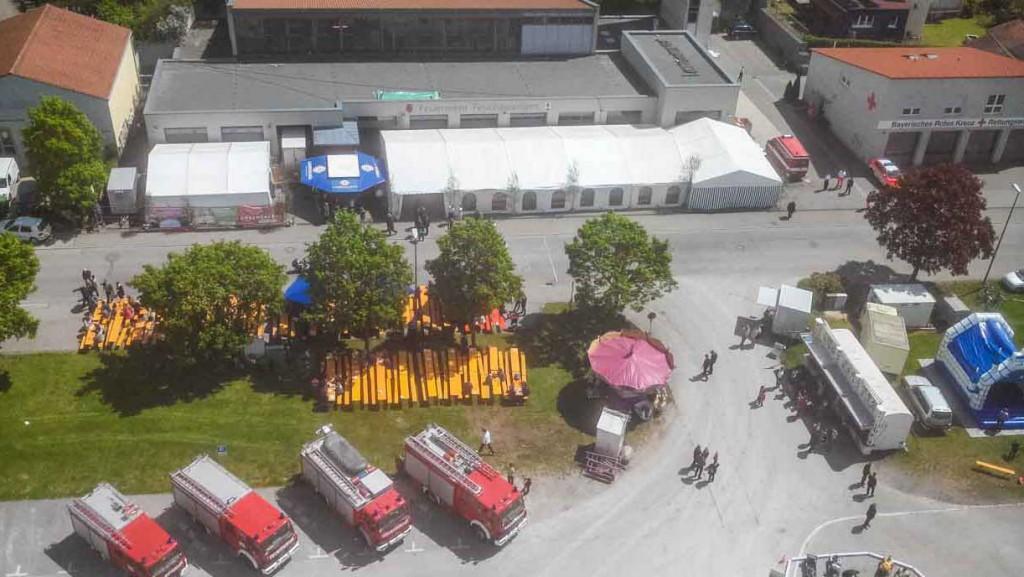 Titelbild 150 Jahre Feuerwehr Feuchtwangen