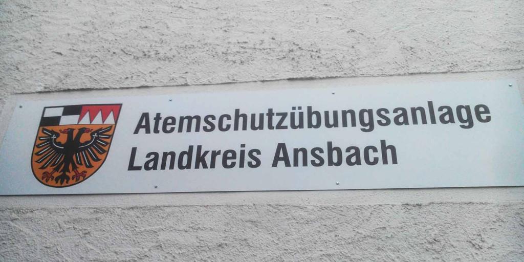 Atemschutzübungsanlage Landkreis Ansbach Dinkelsbühl