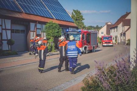 Jugendfeuerwehr Übung Breitenau 2015 2