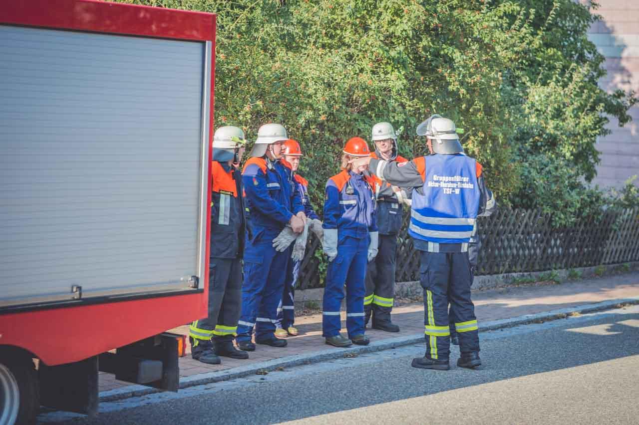 Jugendfeuerwehr Übung Breitenau 2015 4