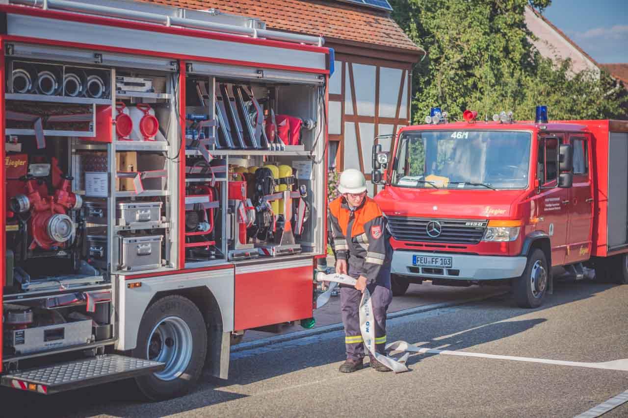 Jugendfeuerwehr Übung Breitenau 2015 6