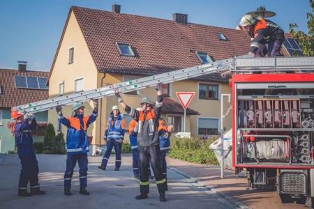 Jugendfeuerwehr Übung Breitenau 2015 7