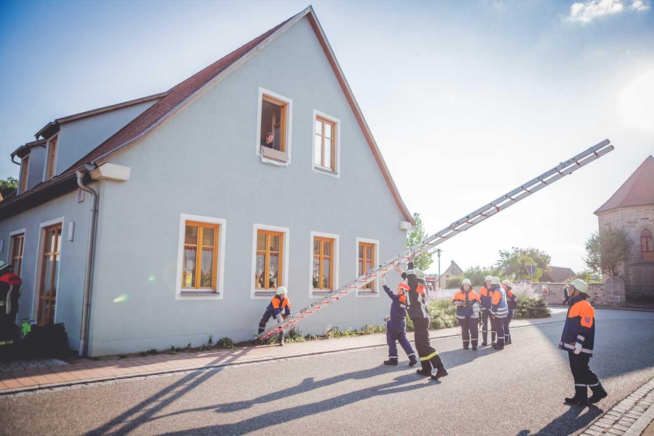 Jugendfeuerwehr Übung Breitenau 2015 11