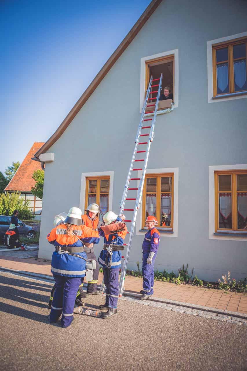 Jugendfeuerwehr Übung Breitenau 2015 16