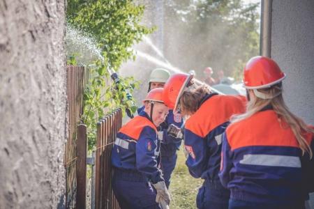 Jugendfeuerwehr Übung Breitenau 2015 21