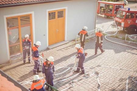 Jugendfeuerwehr Übung Breitenau 2015 27
