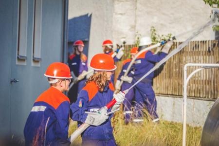 Jugendfeuerwehr Übung Breitenau 2015 41