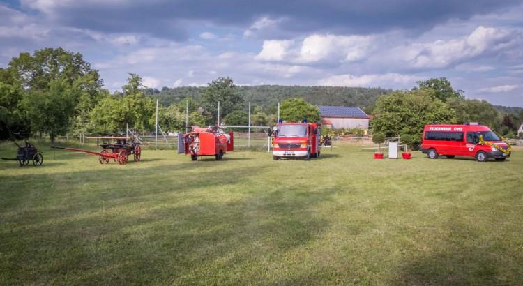 Einweihung Feuerwehrauto Breitenau Ungetsheim