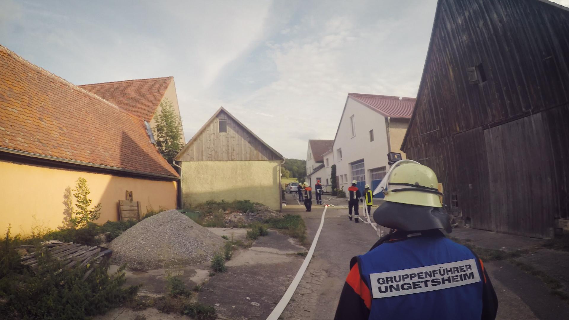 Brotzeitübung Sperbersbach 2015 2