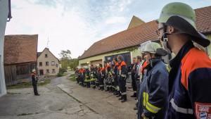 Brotzeitübung Sperbersbach 2015