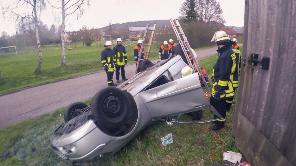 Gemeinschaftsübung mit Breitenau 09.04.2016
