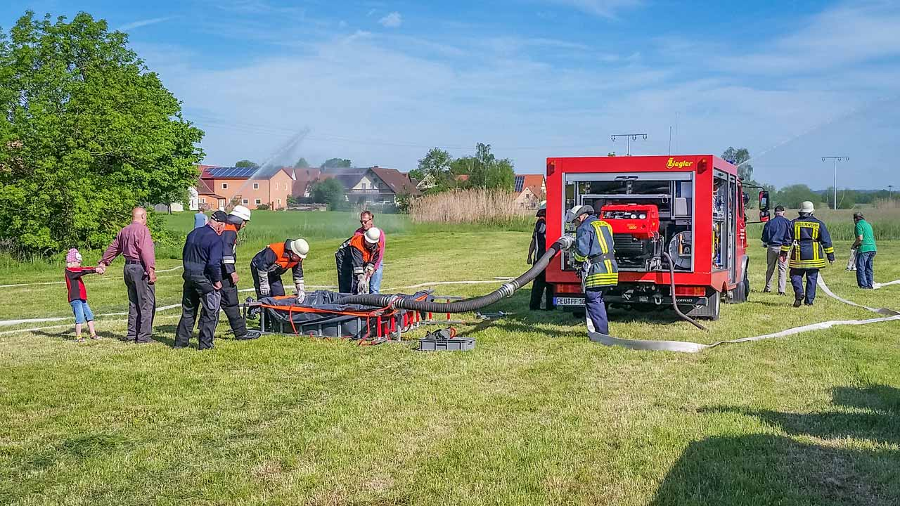 Reservistenübung Feuerwehr Ungetsheim 2016 7