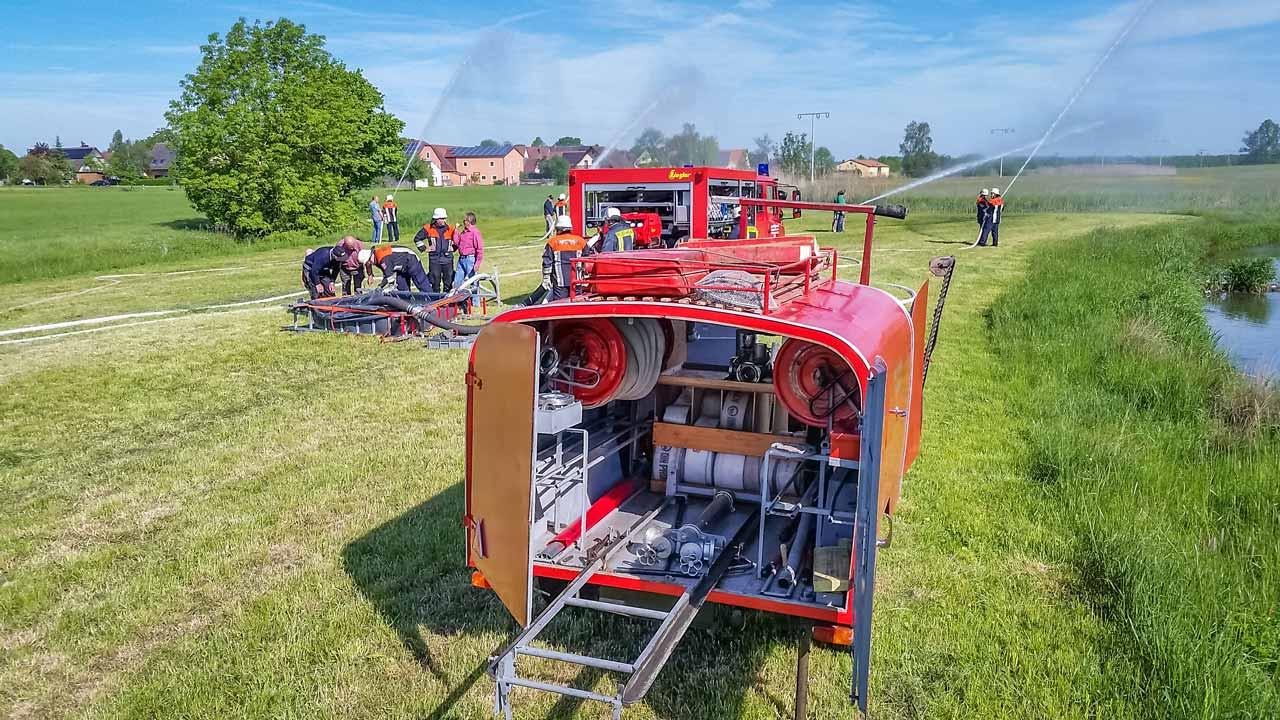 Reservistenübung Feuerwehr Ungetsheim 2016 5