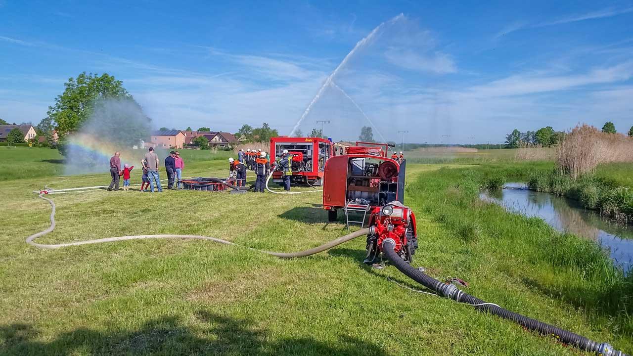 Reservistenübung Feuerwehr Ungetsheim 2016 3