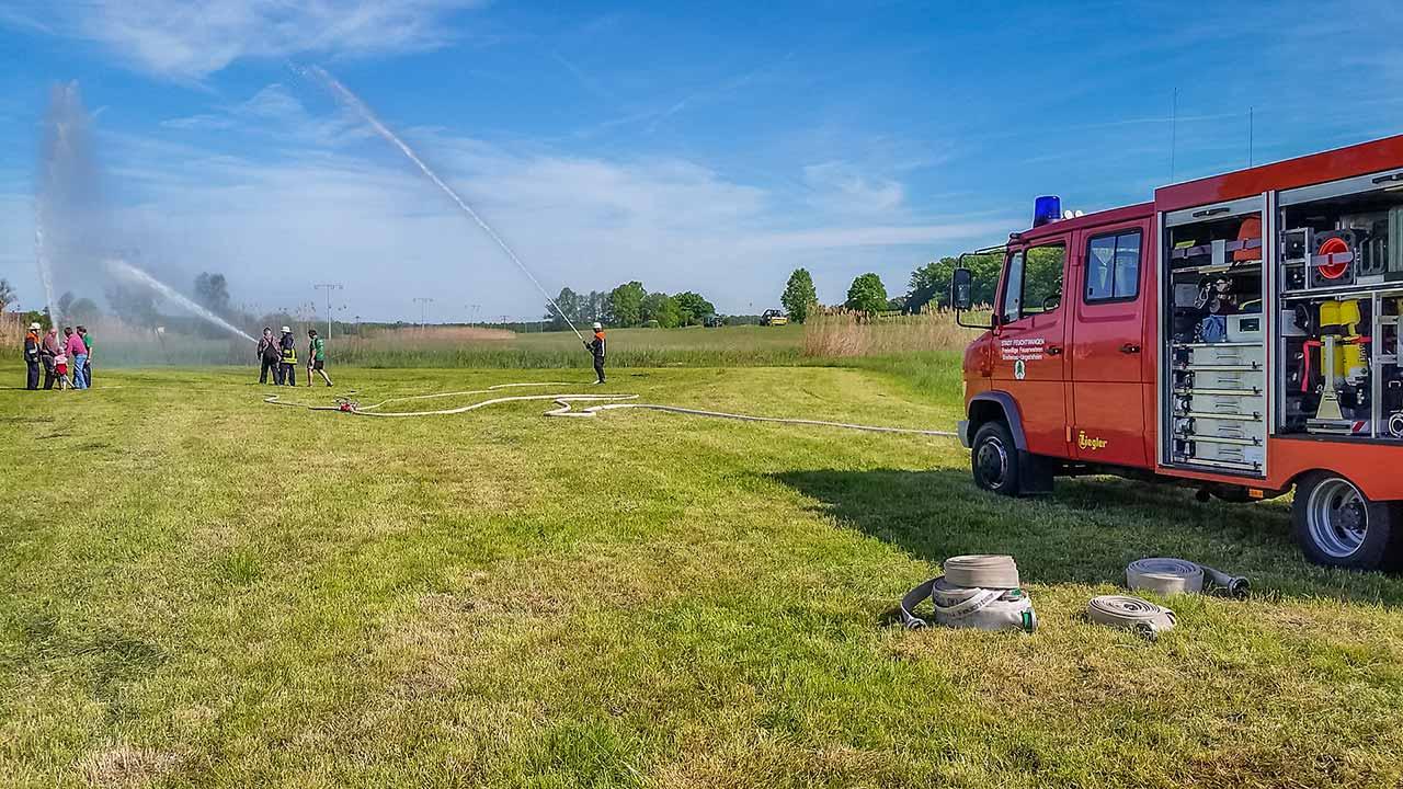 Reservistenübung Feuerwehr Ungetsheim 2016 8