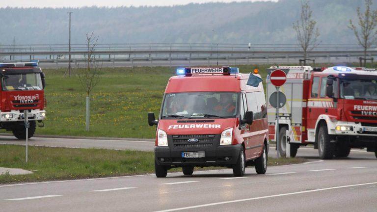Katastrophenschutzübung 2017 Landkreis Ansbach
