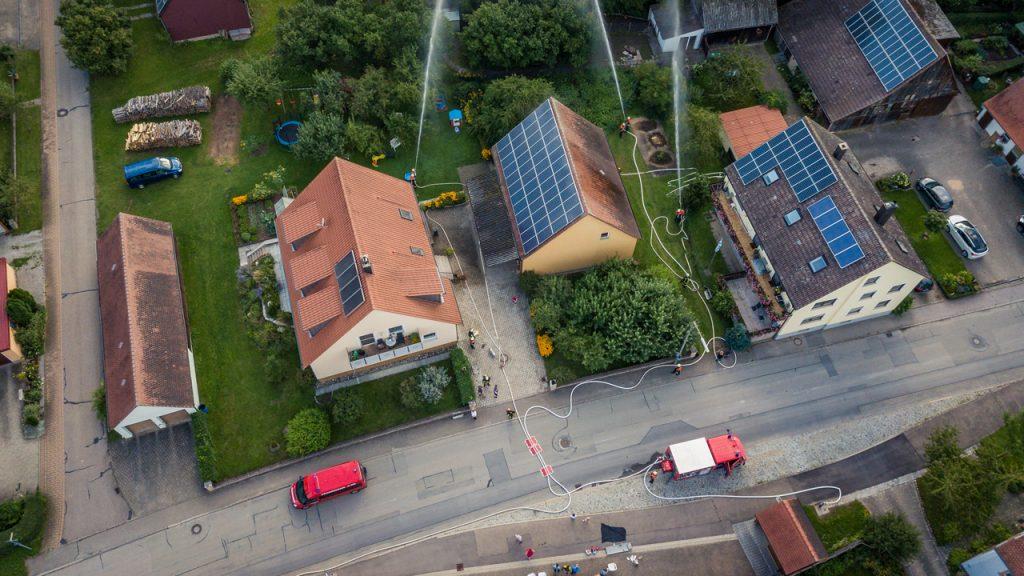 Luftbild Ungetsheim 2017 1