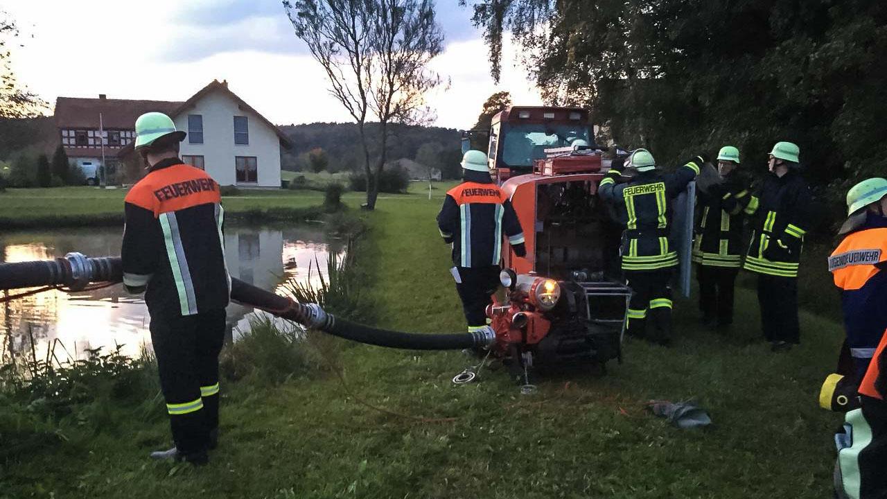 Brandschutzwoche 2017 – Waldbrand Übung
