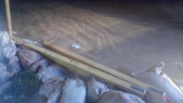 Hochwasser Dorfgütingen 31.12.2017 6