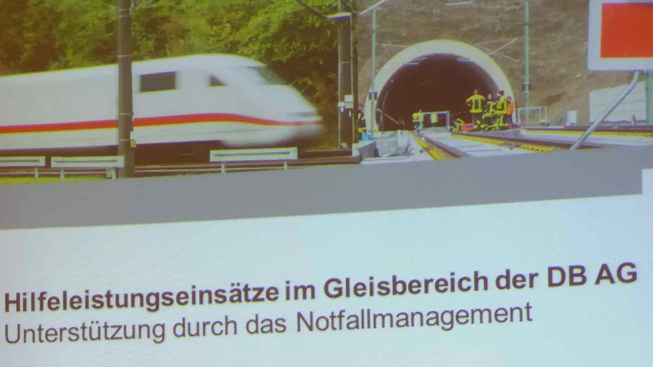 Notfallmanagement auf Gleisstrecken der Deutschen Bahn 2019