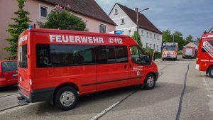 Brand Scheune Gehrenberg 31.05.2019