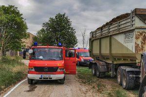 Feuerwehrautos der FFW Breitenau - Ungetsheim in Bottenweiler