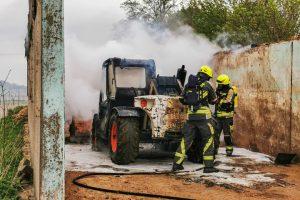 Brand landwirtschaftliches Gerät – Bottenweiler – 28.04.2020